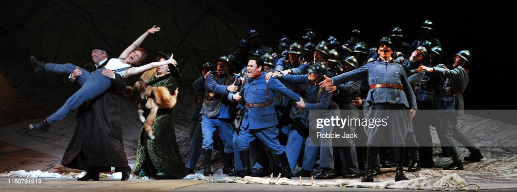 Gaetano Donizetti's La Fille Du Regiment At The Royal Opera House in London : News Photo