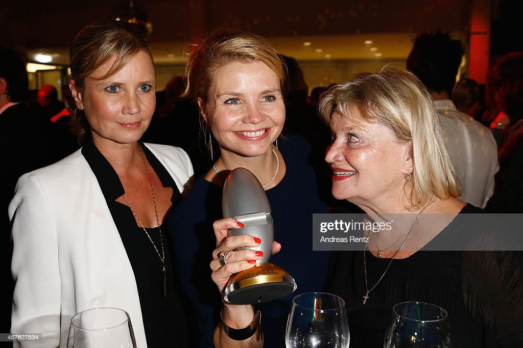Sabine Frier, Annette Frier and her mother attend the 18th Annual German Comedy Awards at Coloneum on October 21, 2014 in Cologne, Germany. The show will be aired on RTL on October 25.