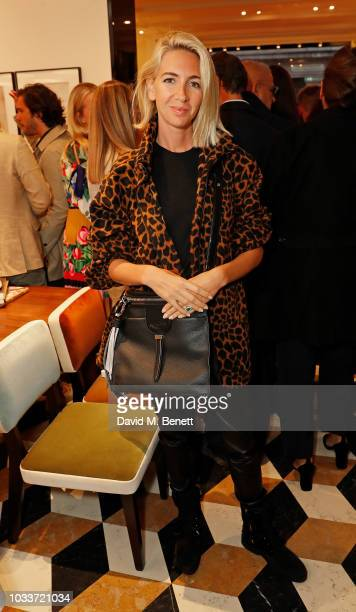 26e1c0b750 Sabine Getty attends the Tod's Sloane Apartment Boutique cocktail party on  September 15 2018 in London