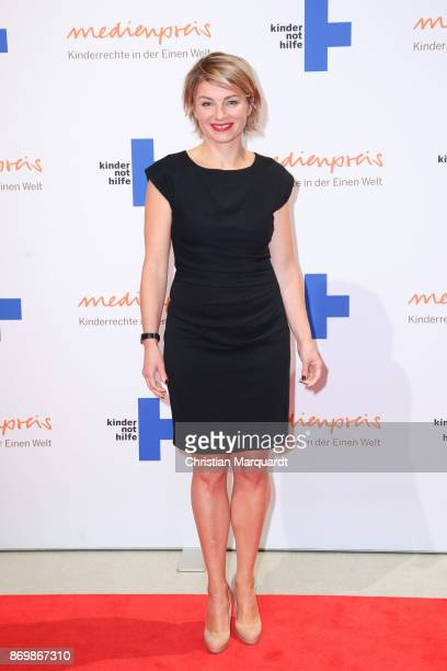 Sabine Heinrich attends the 19th Media Award by Kindernothilfe on November 3 2017 in Berlin Germany
