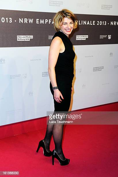 Sabine Heinrich attends the NRW Reception during the 63rd Berlinale International Film Festival at the Landesvertretung on February 10 2013 in Berlin...