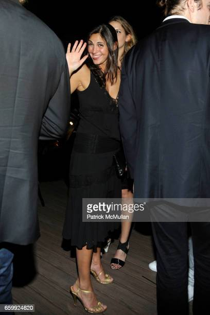 Sabine Heller attends Peter Dundas of EMILIO PUCCI hosts a dinner at The Webster at The Webster on December 3, 2009 in Miami Beach, Florida.