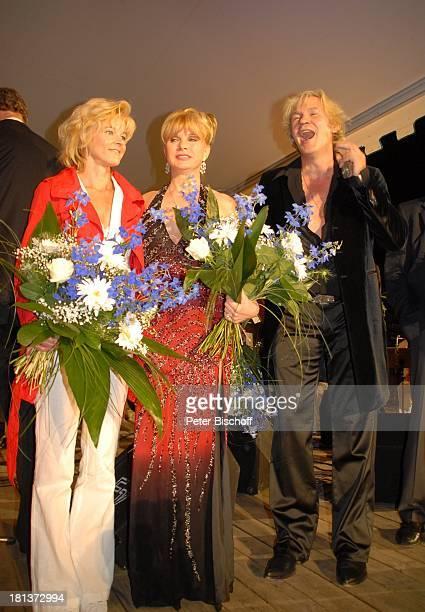 Sabine Hofmann, Deborah Sasson, Johnny Logan , 2. Benefiz-Konzert zugunsten des parkinsonkranken Ex-Star-Tenor P E T E R HOFMANN, Naturbühne...
