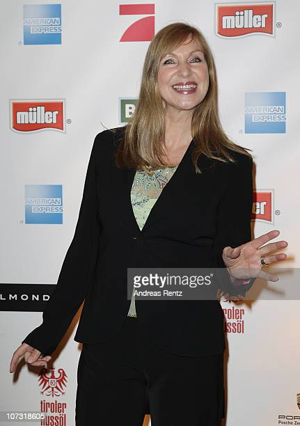 Sabine Kaack attends the 'Movie meets Media' Night at Hotel Atlantic on December 3 2010 in Hamburg Germany