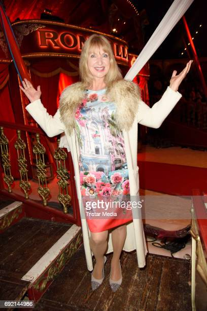 Sabine Kaack during the Circus Roncalli Gala Premiere at Moorweide Park on June 3 2017 in Hamburg Germany