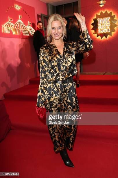 Sabine Kaefer during Michael Kaefer's 60th birthday celebration at Postpalast on February 2 2018 in Munich Germany