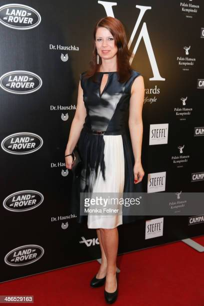Sabine Karner attends the Vienna Awards 2014 at MAK Museum fuer angewandte Kunst on April 24 2014 in Vienna Austria