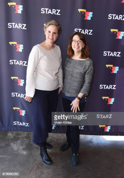Sabine Krayenbuhl and Zeva Oelbaum attend the 3rd Annual Bentonville Film Festival on May 4 2017 in Bentonville Arkansas