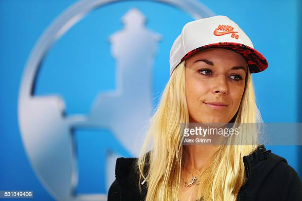Sabine Lisicki of Germany looks on during the official draw ceremony on Day One of the Nuernberger Versicherungscup 2016 on May 14 2016 in Nuremberg...