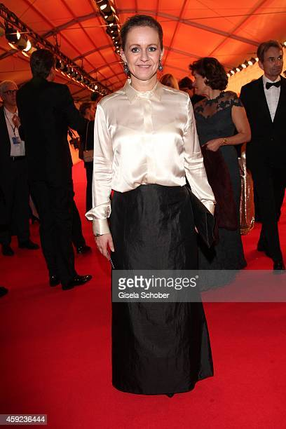 Sabine Nedelchev editor in chief of Elle during the Bambi Awards 2014 on November 13 2014 in Berlin Germany