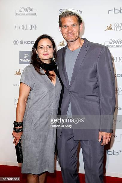 Sabine Otto and Goetz Otto attend Madeleine At Goldene Henne 2015 on September 05 2015 in Berlin Germany