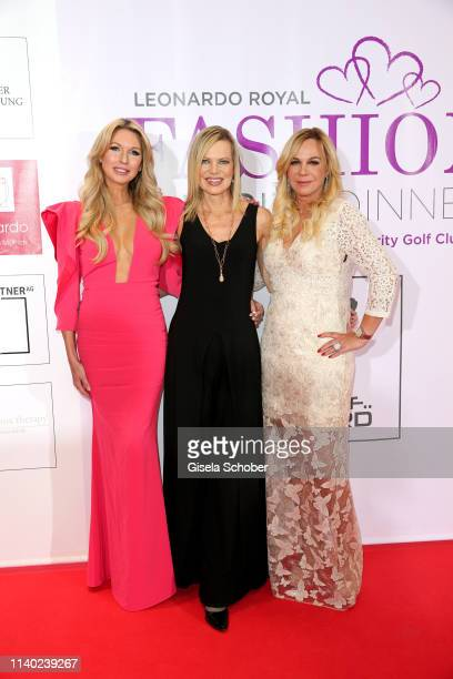 Sabine Piller Nina Ruge Birgit FischerHoeper during the 7th Fashion Charity Dinner and the Best of Awards at Hotel Leonardo Royal on April 29 2019 in...