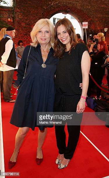Sabine Postel and Camilla Renschke attend the NRW Filmparty at Wolkenburg on June 17 2014 in Cologne Germany