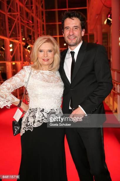 Sabine Postel and Oliver Mommsen during the Goldene Kamera reception at Messe Hamburg on March 4 2017 in Hamburg Germany