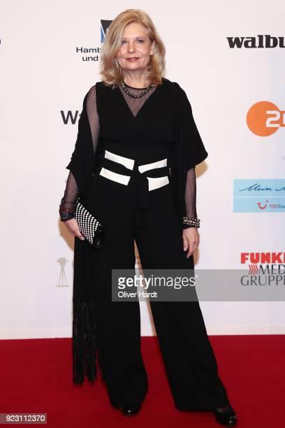 Sabine Postel attends for the Goldene Kamera on February 22 2018 in Hamburg Germany