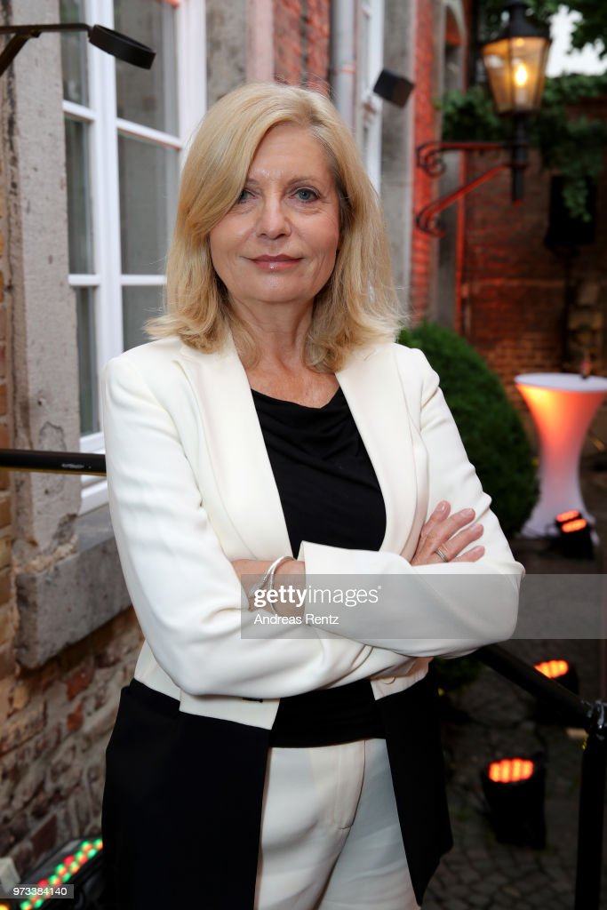 Sabine Postel attends the 'Film- und Medienstiftung NRW' summer party at Wolkenburg on June 13, 2018 in Cologne, Germany.