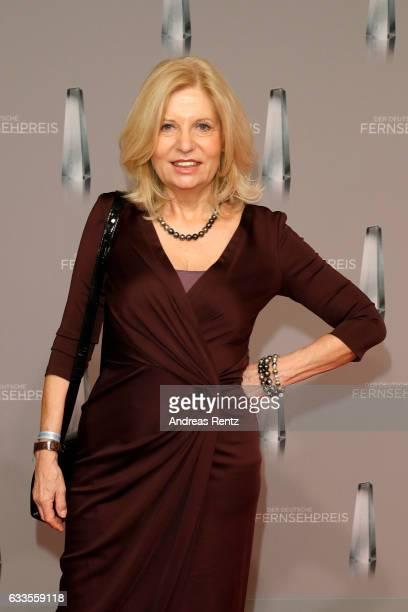 Sabine Postel attends the German Television Award at Rheinterrasse on February 2 2017 in Duesseldorf Germany