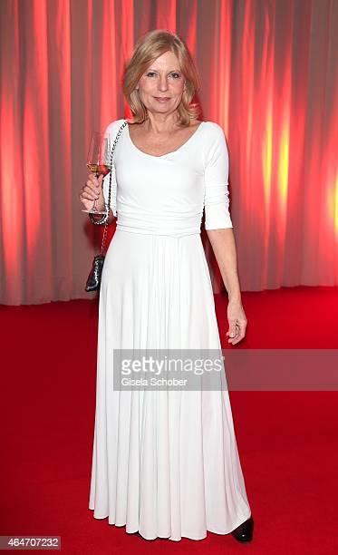 Sabine Postel during the Goldene Kamera 2015 reception on February 27 2015 in Hamburg Germany