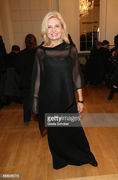Sabine Postel during the Hessian Film and Cinema Award 2015 at Alte Oper on October 16 2015 in Frankfurt am Main Germany