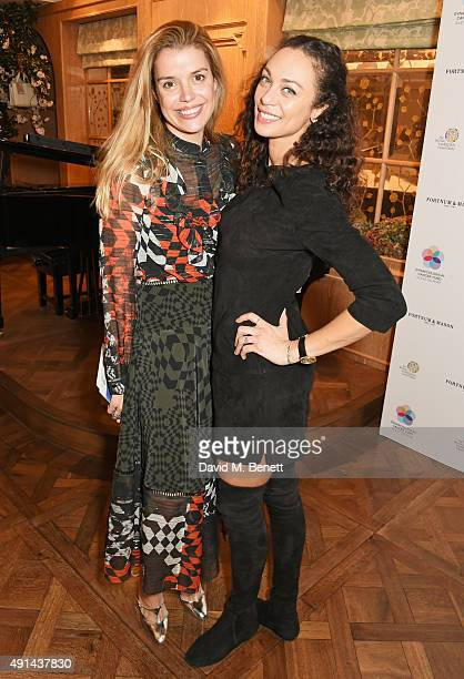 Sabine Roemer and Lilly Becker attends the annual ladies' lunch in support of the Silent No More Gynaecological Cancer Fund and The Royal Marsden...