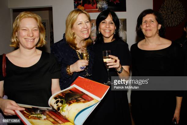 Sabine Rothman Deborah Buck Madeline Weinrib and Melissa Feldman attend DEBORAH BUCK'S TABLEAU Launch at the MADELINE WEINRIB ATELIER at ABC Carpet...