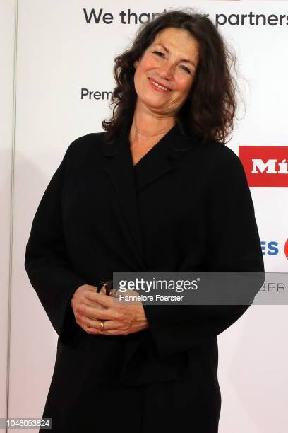Sabine Vitua, actor, attends the opening ceremony of the 2018 Frankfurt Book Fair on October 9, 2018 in Frankfurt am Main, Germany. The 2018 fair,...