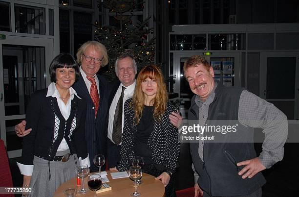 Sabine Wölffer, Peter Fricke, Jürgen Wölffer, Namen auf Wunsch , Feier zum 60. Geburtstag von C H R I S T I N E S C H I L D, nach dem Theaterstück...