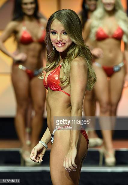 Sable Jade Robbert of Fort Lauderdale Florida competes in the 20th annual Hooters International Swimsuit Pageant at The Pearl concert theater at...