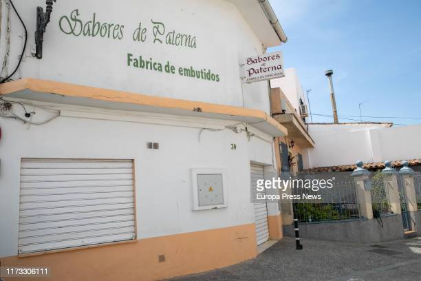 'Sabores de Paterna' manufacture is seen during the order of the Ministry of Health to withdraw some products to prevent listeriosis on September 07...