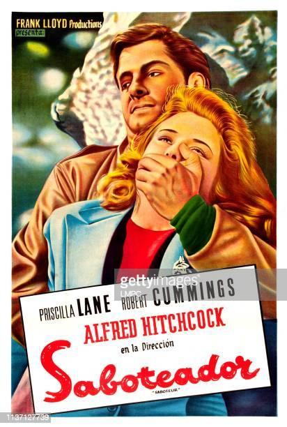 Saboteur poster Robert Cummings Priscilla Lane 1942