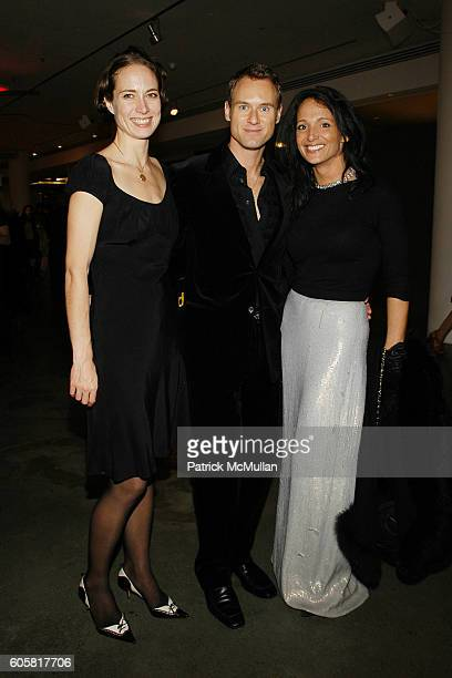 Sabra Perry Philip Parrotta and Emma SnowdonJones attend HUGH JACKMAN and HUGO BOSS present MOVE FOR AIDS the new global project by photographer...