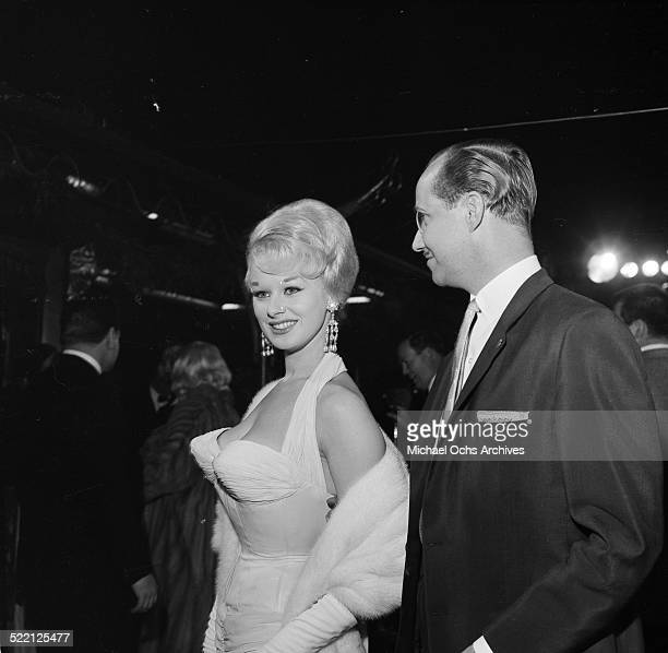 Sabrina aka Norma Ann Sykes and Bertl Unger attends an event in Los AngelesCA