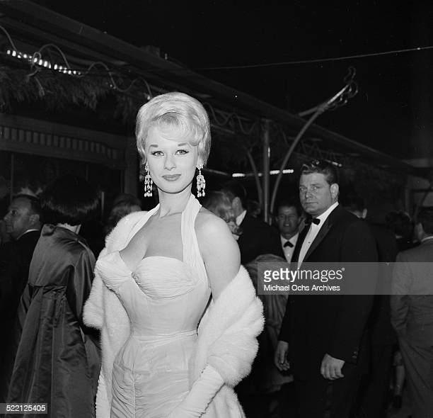 Sabrina aka Norma Ann Sykes attends an event in Los AngelesCA