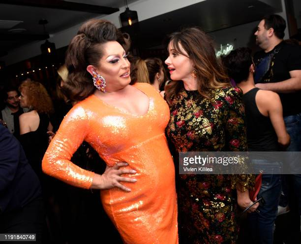 Sabrina and Essie Davis attends the afterparty for Stage Mother at the 31st Annual Palm Springs International Film Festival on January 4 2020 in Palm...