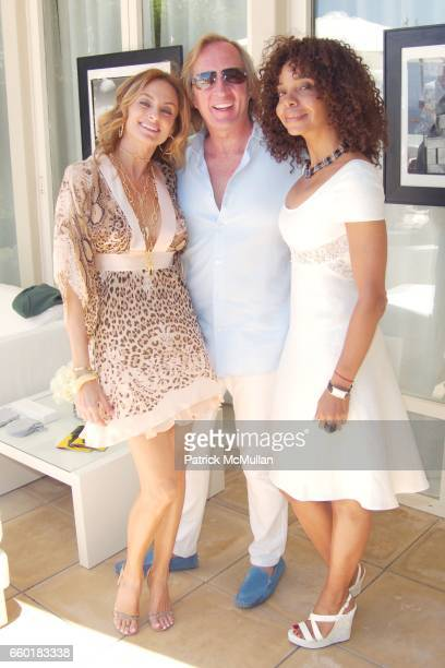 Sabrina Antolini Roy March and June Haynes attend FARAONE MENNELLA and BARBARA BALDIERI MARCH host a benefit for March to the Top in Malibu at...