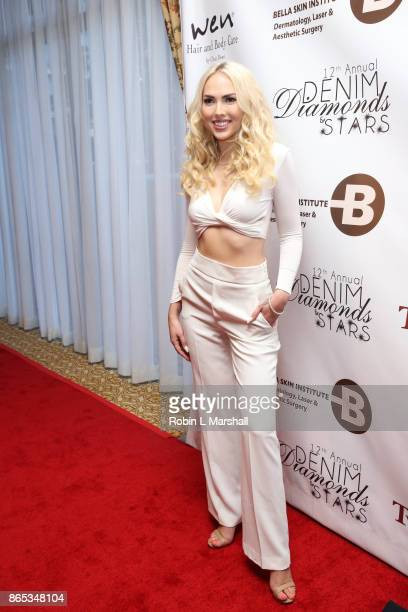 'Sabrina' attends the 12th Annual Denim Diamonds And Stars at Four Seasons Hotel Westlake Village on October 22 2017 in Westlake Village California