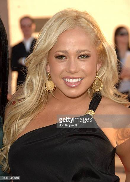 Sabrina Bryan of the Cheetah Girls during 2006 American Music Awards Arrivals at Shrine Auditorium in Los Angeles California United States