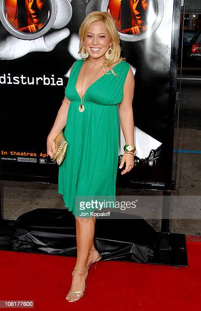Sabrina Bryan The Cheetah Girls during Disturbia Los Angeles Premiere Arrivals at Grauman's Chinese Theater in Hollywood California United States