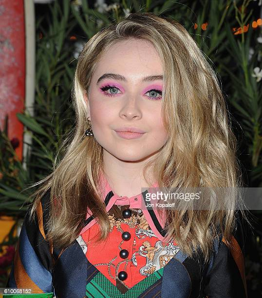 Sabrina Carpenter arrives at Teen Vogue Celebrates 14th Annual Young Hollywood Issue at Reel Inn on September 23 2016 in Malibu California