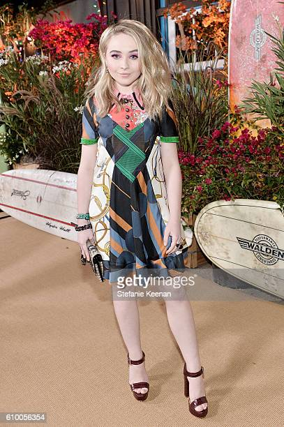 Sabrina Carpenter attends 14th Annual Teen Vogue Young Hollywood with American Eagle Outfitters on September 23 2016 in Malibu California