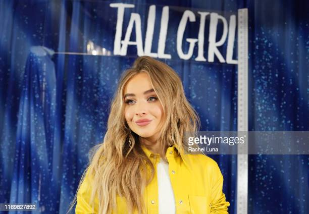 Sabrina Carpenter attends a photo call For Netflix's Tall Girl at the Beverly Wilshire Four Seasons Hotel on August 23 2019 in Beverly Hills...