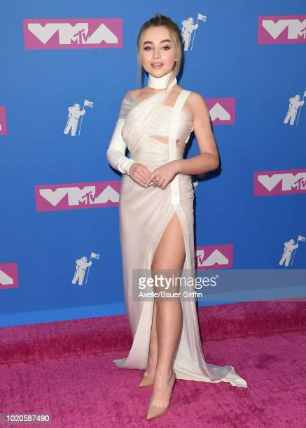 Sabrina Carpenter attends the 2018 MTV Video Music Awards at Radio City Music Hall on August 20 2018 in New York City