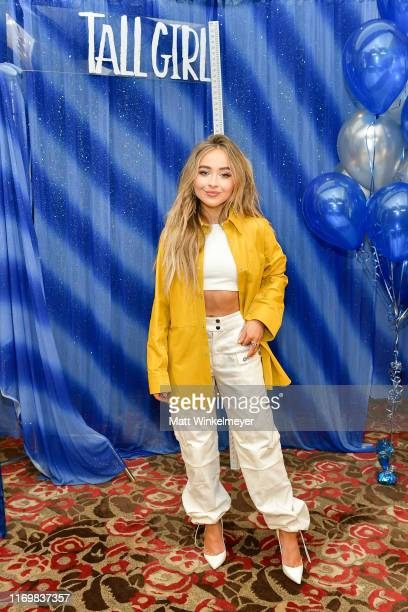 Sabrina Carpenter attends the Photo Call for Netflix's Tall Girl at the Beverly Wilshire Four Seasons Hotel on August 23 2019 in Beverly Hills...