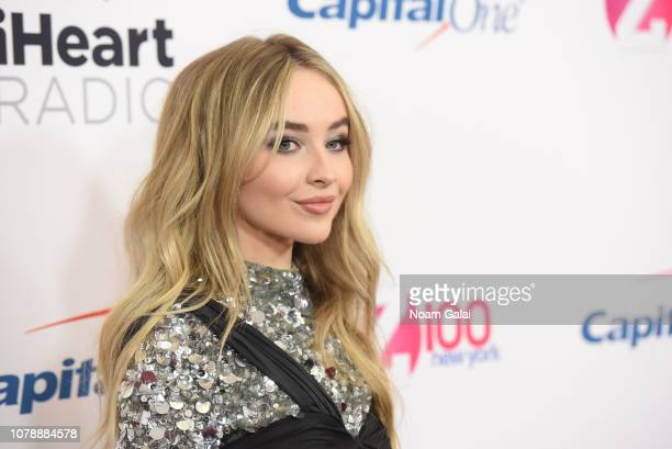 Sabrina Carpenter attends Z100's Jingle Ball 2018 at Madison Square Garden on December 07 2018 in New York City