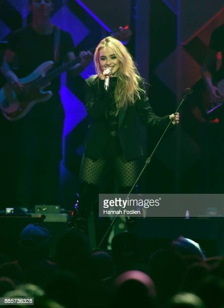 Sabrina Carpenter performs onstage at 1013 KDWB's Jingle Ball 2017 at Xcel Energy Center on December 4 2017 in St Paul Minnesota