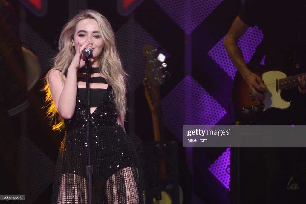 Sabrina Carpenter performs onstage during Q102's Jingle Ball 2017 Presented by Capital One at Wells Fargo Center on December 6, 2017 in Philadelphia, Pennsylvania.