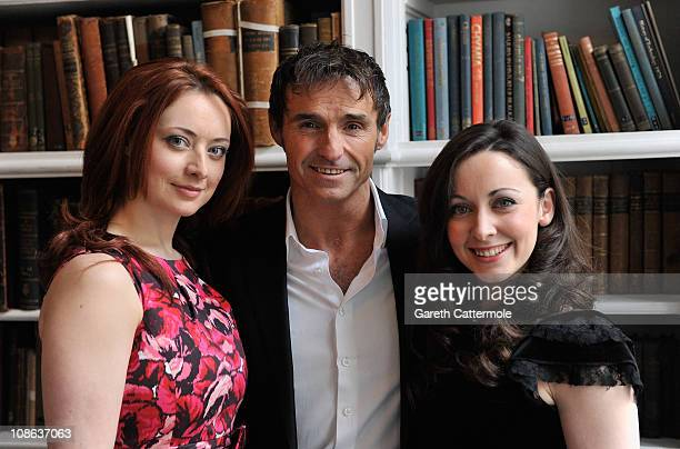 Sabrina Carter Marti Pellow and Sarah Earnshaw attend a photocall for the launch of the UK tour of 'Jekyll and Hyde' at the Royal Institute of Great...