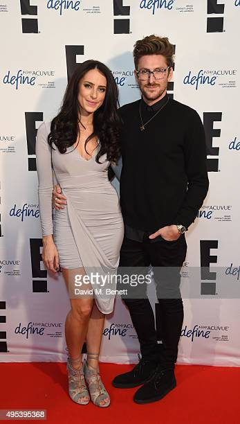 Sabrina Chakici and Henry Holland attend the E party for the announcement of the new UK and Ireland host Sabrina Chakici at Hoxton Hotel on November...