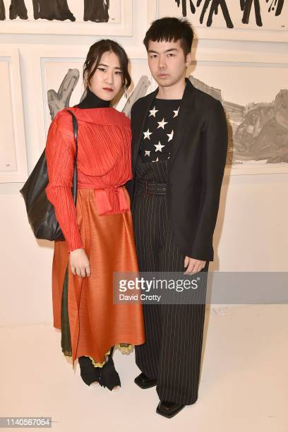 Sabrina Che and Michael Stukan attend Ralph Pucci Los Angeles Presents Richard Meier Light, Spencer Fung And John Wigmore on April 04, 2019 in Los...