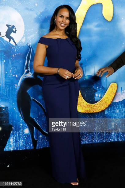 Sabrina Dhowre attends the world premiere of Cats at Alice Tully Hall Lincoln Center on December 16 2019 in New York City